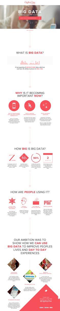 BIG DATA - Flat UI Design