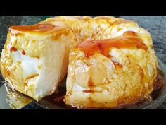 SOBREMESA COM 2 INGREDIENTES NAO FAÇA OUTRA ANTES DE VER ESSE VÍDEO - YouTube Flan, Bagel, Camembert Cheese, Dairy, Food And Drink, Bread, Youtube, Roasts, Puddings