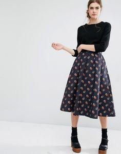 Image 1 of Baum und Pferdgarten Sashenka Full Midi Skirt Nordic style modest without god