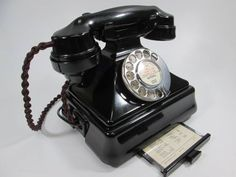 """Vintage GPO Telephone. A 1940's Tel 232 in a """"Combined Set"""" configuration."""