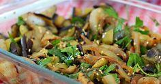 Ingredientes 1 berinjela 1 pimentão verde 1 cebola