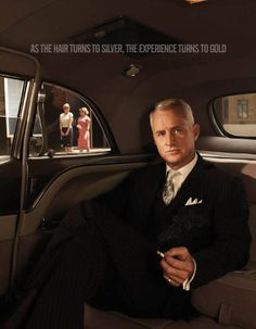 Why is this quote so good? Roger Sterling John Slattery - Mad Men.