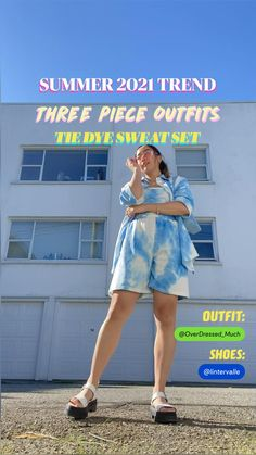 Three Piece Suit, Fashion Poses, Simple Outfits, What To Wear, Fashion Photography, Street Wear, Tie Dye, Summer Dresses, Style