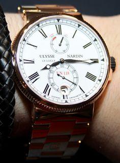 Ulysse Nardin Marine Chronometer*** (Công Ty Cứu Dữ Liệu Trần Sang: http://cuudulieutransang.wix.com/trangchu)