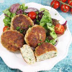 Kotlety rybne Tzatziki, Salmon Burgers, Avocado Toast, Healthy Eating, Favorite Recipes, Healthy Recipes, Fish, Breakfast, Ethnic Recipes