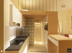 Na 20 m² - zdjęcie od Ciochoń - Studio - Kuchnia - Styl Nowoczesny - Ciochoń - Studio