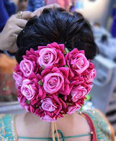 Bridal Hairstyle Indian Wedding, Bridal Hair Buns, Bridal Hairdo, Hairdo Wedding, Indian Bridal Hairstyles, Bridal Photoshoot, Wedding Bride, Saree Hairstyles, Bride Hairstyles