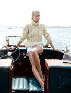 Fisherman sweater.