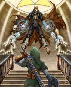 Ganondorf vs Link