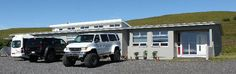 The volcano hotel, iceland