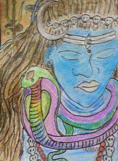 Lord Shiva and Vasuki Nagaraj by Merindah