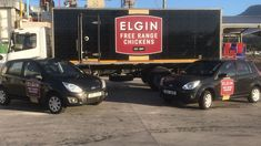 What do you think of the new Elgin Free Range Chickens branding on our fleet? Chicken Brands, Free Range, Branding, Brand Management