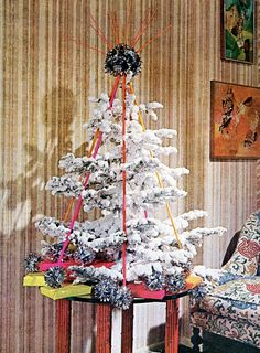 Xmas Tree Decorating Ideas From 1969