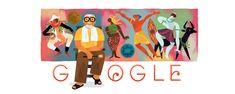 anniversary of the birth of Bagong Kussudiardja Google Doodle 2017, Google Doodles, Birthday Dates, Happy Birthday, Google Anniversary, Study Japanese, Kite, Art Music, Art Google