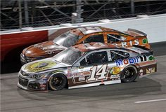 Tony Stewart's throwback Bass Pro Shops paint- 2015 BOJANGLES' SOUTHERN 500
