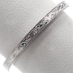 Image for Scroll Engraved Band 2 mm