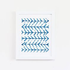 Hey, I found this really awesome Etsy listing at https://www.etsy.com/listing/265337776/blue-ikat-pattern-watercolor-art-print