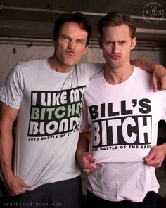 true blood - I like their duckface they have going on, lol