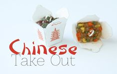 Chinese Take Out Box Charms - Polymer Clay Food Jewelry Tutorial