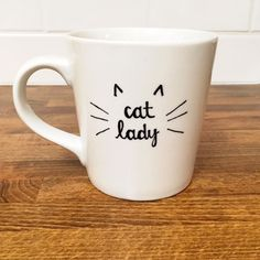 Hey, I found this really awesome Etsy listing at https://www.etsy.com/listing/219658847/cat-lady-coffee-mug-gift-for-valentines