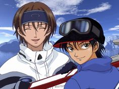 Fuji Syusuke and Echizen Ryoma - Prince of Tennis Photo (1295422 ...