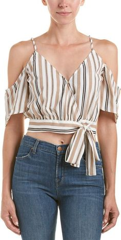 Great for Lunik Wrap Top Women's L Fashion Women Clothing from top store Maila, Luxury Fashion, Womens Fashion, Beautiful Gowns, Cute Tops, Color Patterns, Camisole Top, Summer Outfits, Classy