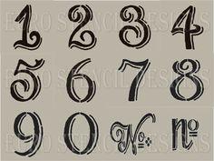 Euro Stencil Designs Chalk Board Hand Style by EuroStencilDesigns, $45.00