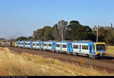 250M Metro Trains Melbourne Xtrapolis class at Corio, Victoria, Australia by Ian Green