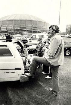 Seattle Seahawks tailgate party, Kingdome, circa 1978
