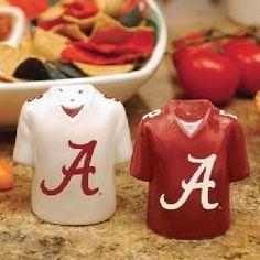 Alabama Crimson Tide Salt & Pepper Shakers