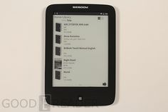 Review of the Bebook Touch e-Reader