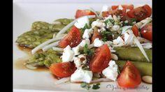 Cómo hacer ensalada de espárragos verdes | Receta fácil de ensalada de e...