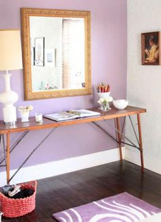 Radiant Orchid Interiors Inspired by Pantone's 2014 Color of the Year   The Vivant