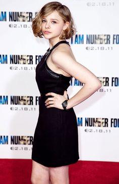 Chloë Grace Moretz, haircut.