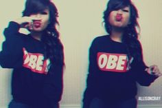 teen girl sweater weather tumblr | swag girl # swag # obey # swag obey///