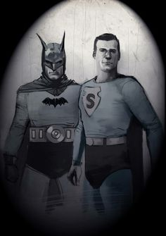 Batman and Superman by Rod Reis *