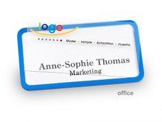 """Jetzt office quick-print #Namensschild mit 10% Rabatt bestellen – einfach Code """"kw28badges"""" nutzen! #brilliantbadges"""