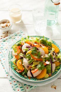 Whole30 Oriental chicken Salad (minus chicken for vegetarian)