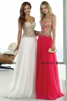 Alyce Paris | Prom Dress Style #6363 Front View