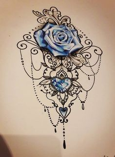 (notitle) - Tattoo & Piercing - Tattoo Designs for Women Piercing Tattoo, Juwel Tattoo, Lace Tattoo, Lace Flower Tattoos, Butterfly Tattoos, Piercings, Flower Tattoo Designs, Tattoo Designs For Women, Tattoos For Women