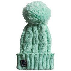 Fox+Legend+Juniors+Knit+Hat+-+Mint