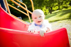 6-month-old session. Bowtie. Playground.  #babyphotography #grandrapidsbabyphotographer #grandrapidsphotographer #grandrapidsfamilyphotographer