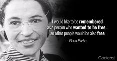 14 Rosa Parks Quotes to Teach You How to Stand Your Ground Rosa Parks Quotes, Park Quotes, Who Was Rosa Parks, Freedom Artwork, Liberty Quotes, Favorite Quotes, Best Quotes, Veterans Day Quotes, Equality Quotes