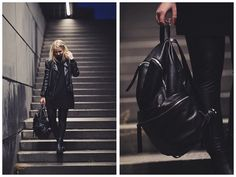 All black // Elizaveta