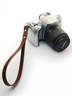 Image of Universal #handmade #leather #camera Wrist Strap/Carry Strap