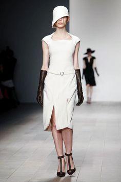cool chic style fashion: MARIOS SCHWAB FALL 2012