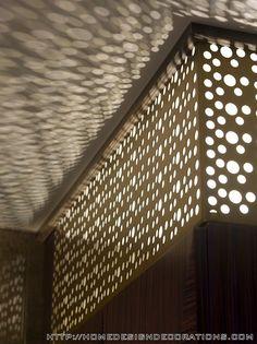 Lighting Detail Beautiful and Comfort SPA Interior Design in Istanbul