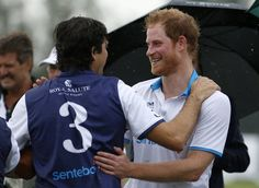 Pin for Later: You Need These Photos of a Soaking-Wet Prince Harry in Your Life