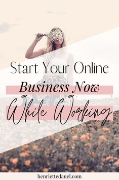 Are you working full time and wondering how you can start your own online business? I'm going to share with you the easy steps to start your own online business while working full time. // Henriette Danel -- #onlinebusiness #businesstips