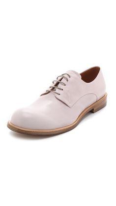 Jil Sander Leather Oxfords